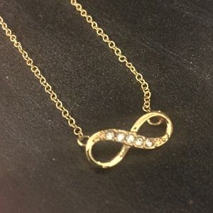 """NWOT 20"""" Infinity Necklace"""